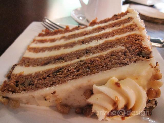 Opera Bistro, Saint John/Carrot cake