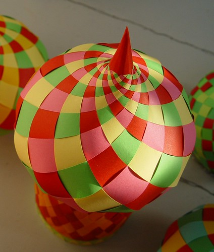 Woven Paper Onion Dome By Papermatrix