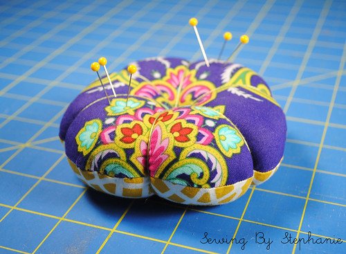 Scrappy Pin Cushion