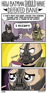 Bane is actually butthurt.