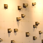 Jennifer Jeannelle; Follicle; Mixed media and ceramic installation -