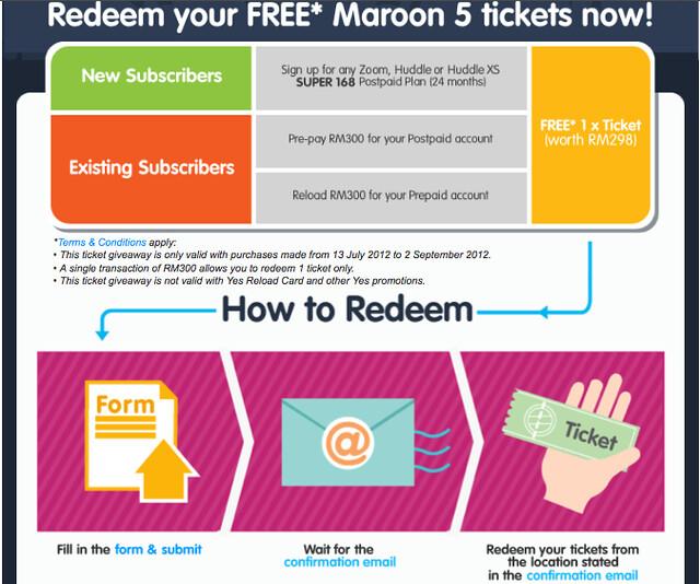 YES Maroon Five visual