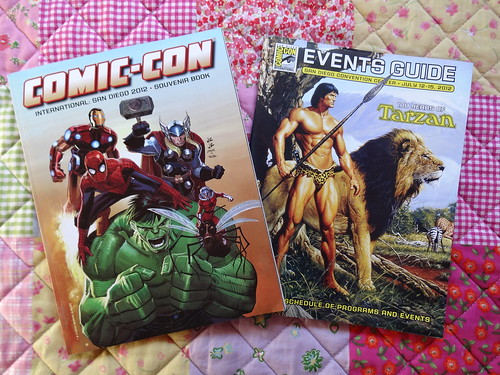 Comic Con books