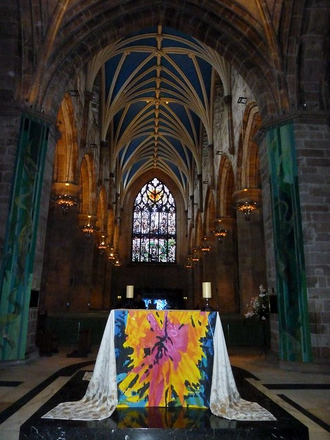 Inside St Giles Cathedral, Edinburgh