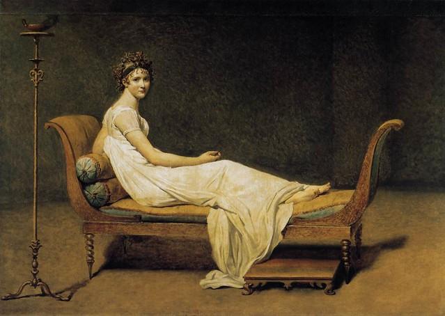 Madame Recamier - David