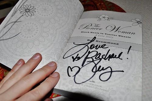 Ree's signature