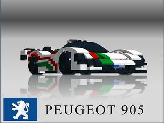 Peugeot 905 - Octan Racing