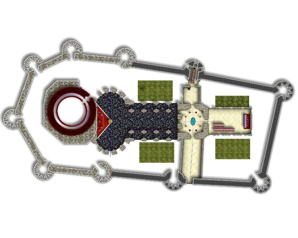 Die Zitadelle von Karalion - Renaissance Erdgeschoss 2