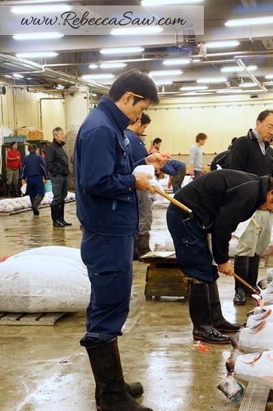Tsukiji Market Tuna Auction - Tokyo Japan-040