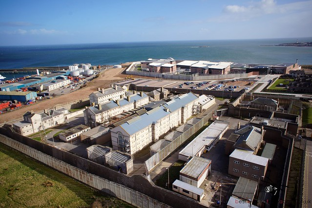 Aerial Picture of Peterhead Prison - The Old One