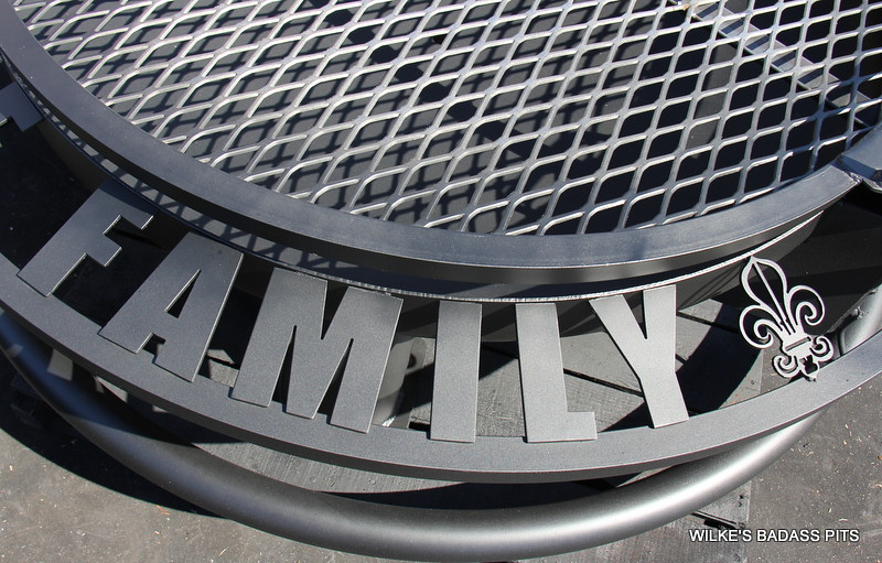 """CUSTOM LETTERING, 2"""" SOLE SAVER AND REGULAR GRILL"""