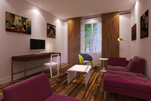 Les nouvelles chambres Abbaye-aux-Bois de l'hôtel La Belle Juliette, Paris