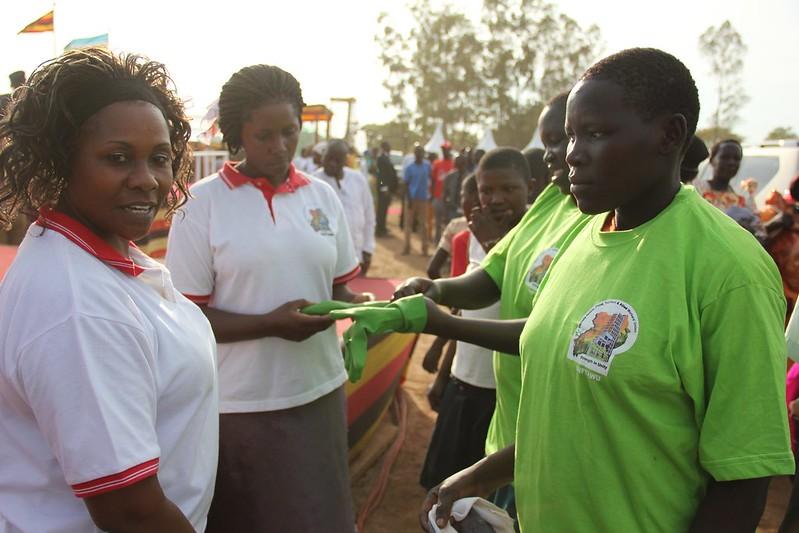 2014-3-8 Celebration IWD in Uganda