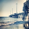 Picturesque morning at Jennette's Pier I'm Nags Head, NC. #obx #outerbanks