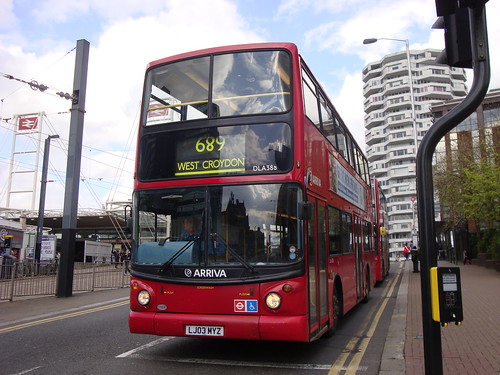 Arriva London DLA388 on Route 689, East Croydon