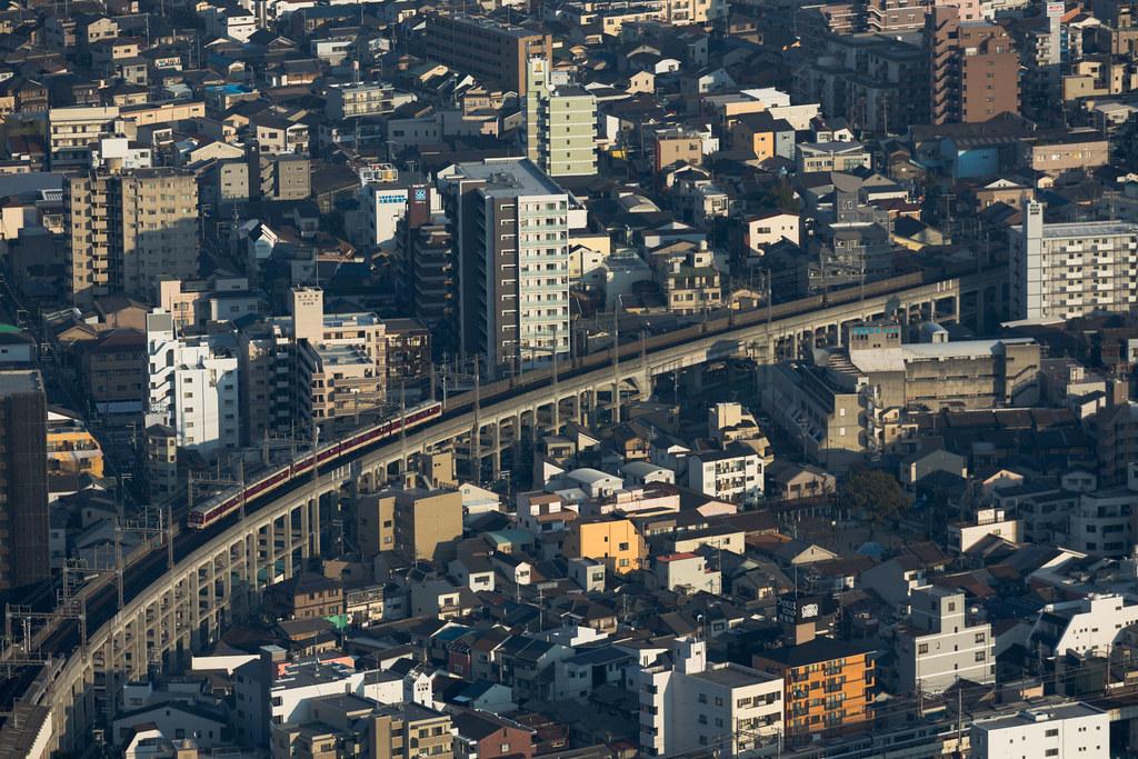 Abenosuji 1 Chome, Osaka-shi, Abeno-ku, Osaka Prefecture, Japan, 0.003 sec (1/320), f/7.1, 236 mm, EF70-300mm f/4-5.6L IS USM