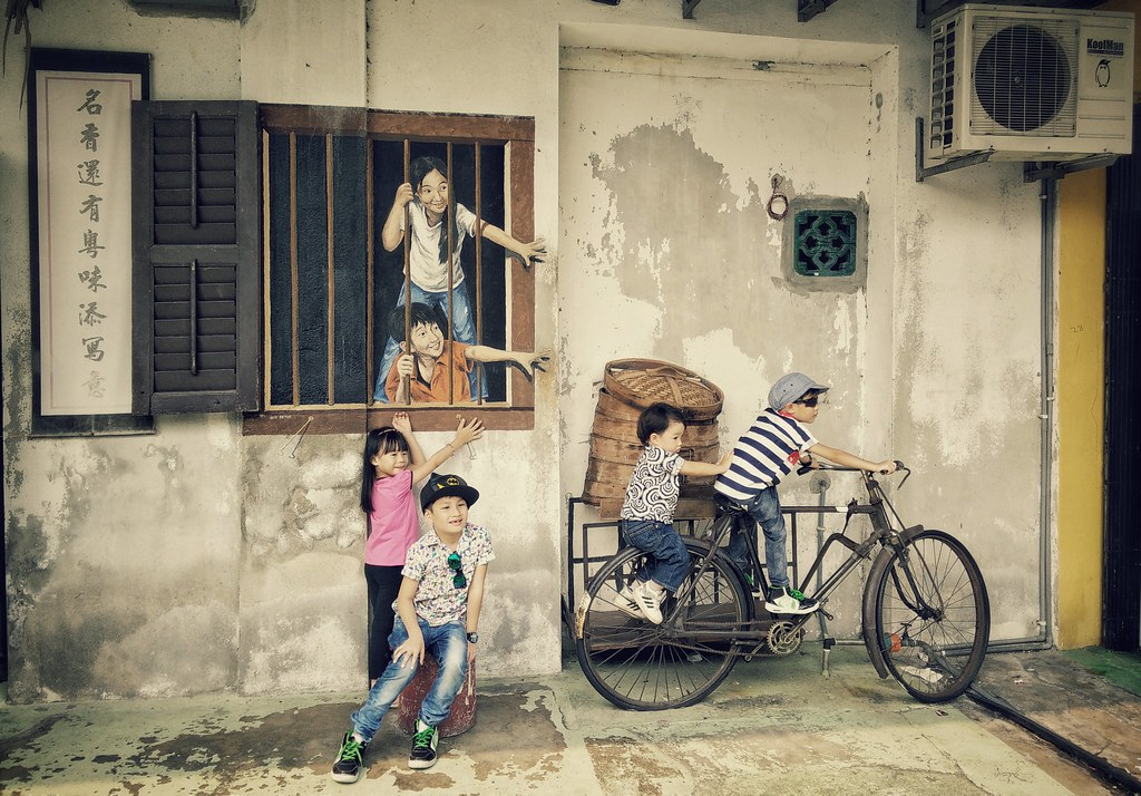 George Town, Penang island, Malaysia