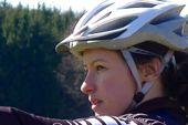Bike Guide Sabrina Neuert. Foto: Günther Härter.