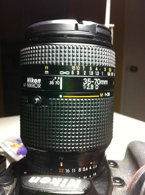 Nikon Nikkor 35-70mm 2.8 D