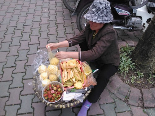 The Fruit Lady