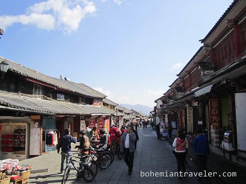 Renmin St in Dali China