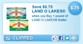 Land O Lakes Butter Coupon