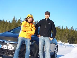 Volker Strycek und Jens Hornischer