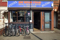 Picture of Reg Taylor Cycles
