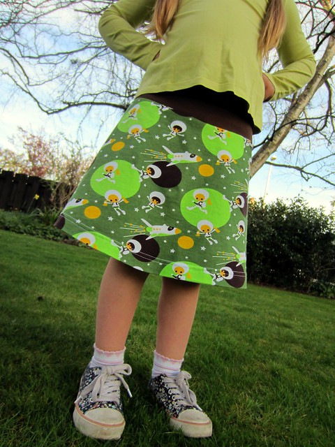 astronaut tennis skirt