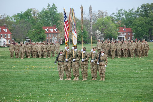 3rd Sustainment Command (Expeditionary) Casing of the Colors Ceremony at  Fort Knox, KY