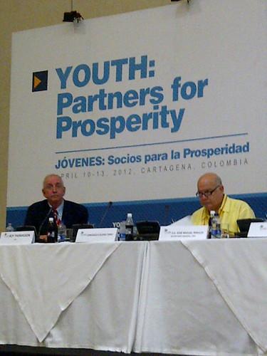 Secretario General Insulza inauguró foro juvenil en Cartagena de Indias