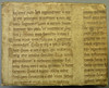 Portion of a parchment ms. leaf from a Vulgate Bible used as binder's waste by Penn Provenance Project