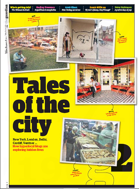 City Notice - The Delhi Walla in the Guardian