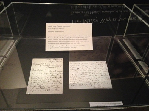 Letter written by Annie Jump Cannon