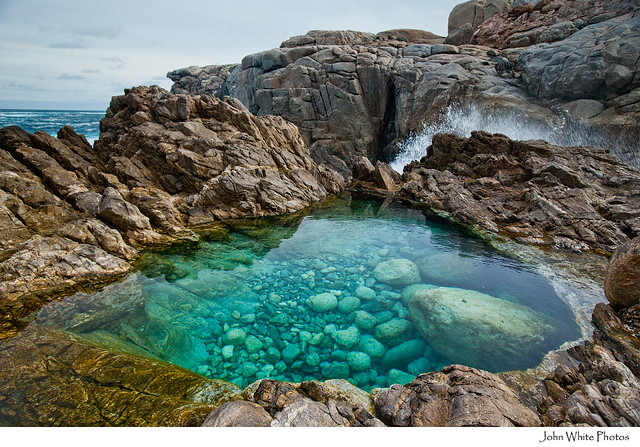Rock pool flickr photo sharing for Garden rock pool