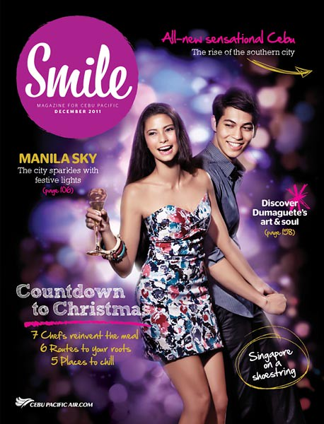 Published on Cebu Pacific Inflight Magazine Smile