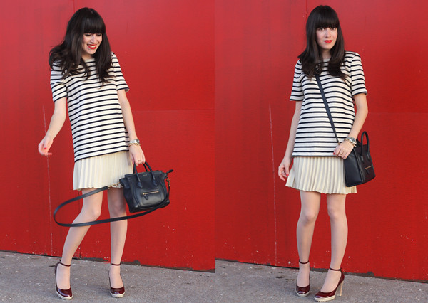 striped_dress_pleated_skirt_celine_bag2
