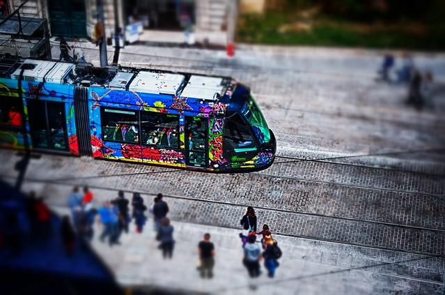 Tram Line 3 Montpellier, Nikon D5000, Sigma 18-50mm F2.8-4.5 DC OS HSM