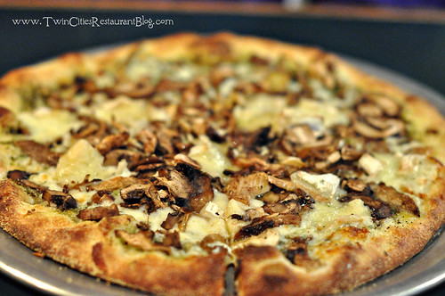 Mushroom and Brie Pizza at Freight House ~ Stillwater, MN