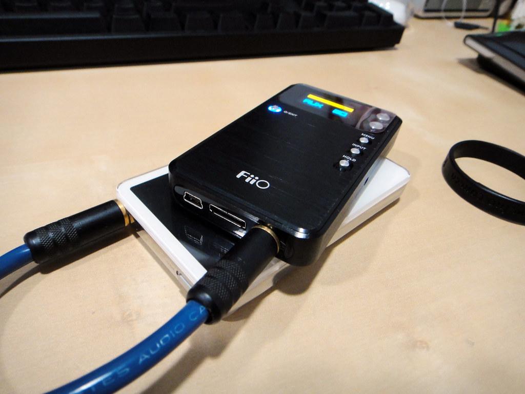 Fiio E17_ipod