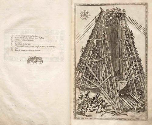 005-Della trasportatione dell'obelisco Vaticano…1590- Doménico Fontana-© Biblioteca Nacional Digital de Portugal