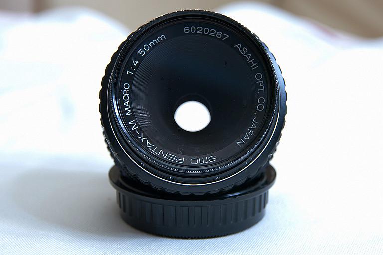 SMC PENTAX-M 1:4 50mm MACRO
