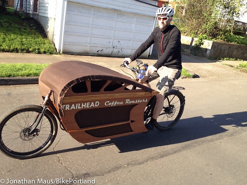 Cargo Bikes Portland Charlie has really outdone