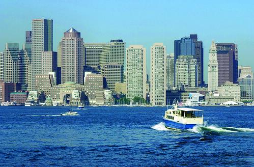 Boston Harbor Skyline, Boston, Credit FayFoto