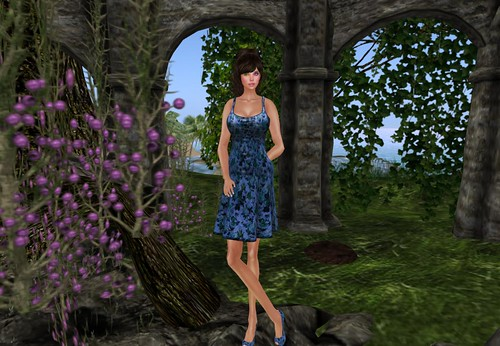*IW* Hettie in Blue by Cherokeeh Asteria
