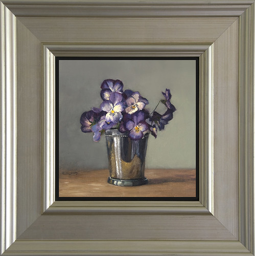 Pansies - Framed