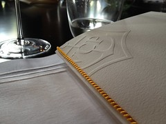 Lunch at Veuve Clicquot's Hotel du Marc