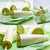 Coconut-Lime Ice Pops Collage
