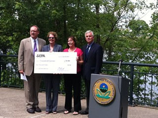 EPA Urban Waters Grant check 1