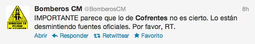 Tweets sobre Cofrentes